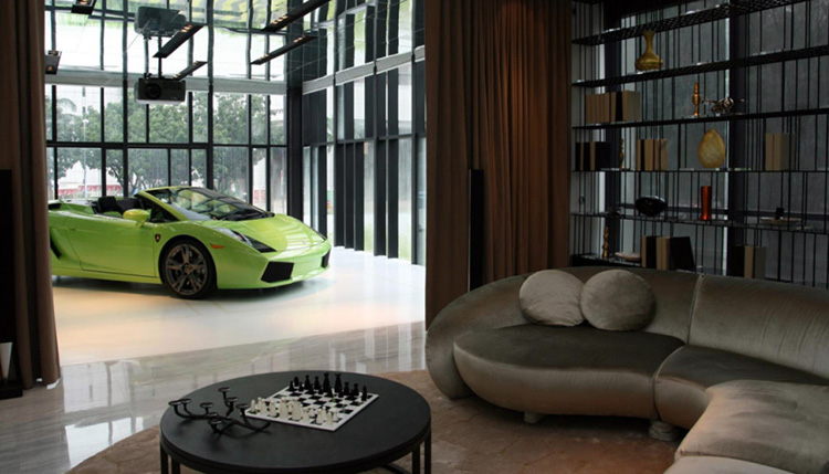 Lambo in the living room