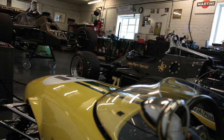 Lotus Race shop