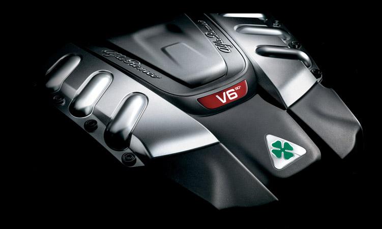 Alfa V6 twin turbo