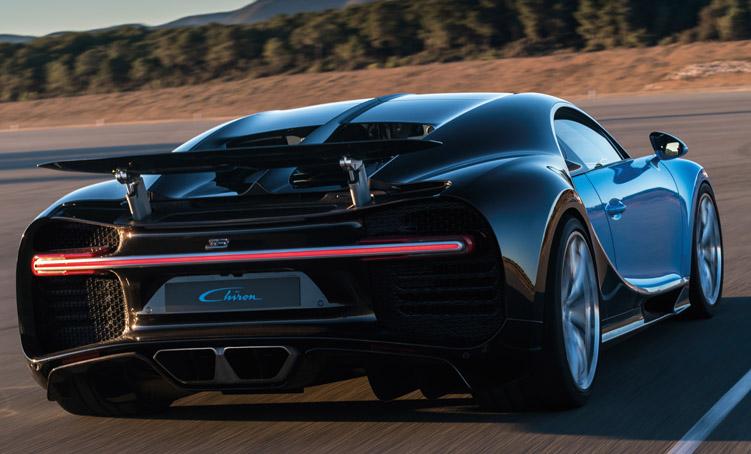 Bugatti rear